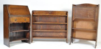 COLLECTION OF EARLY 20TH CENTURY OAK FURNITURE