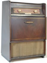 1940'S PEDESTAL FLOOR STANDING RADIOGRAM BY PHILIPS F5G62A