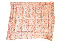 EARLY 20TH CENTURY BED THROW