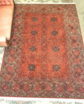 A modern Decorwool Royal Keshan rug, 250 x 350cm.