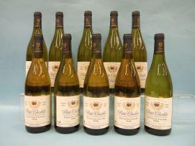 Domaine Dampt Petit Chablis Vielles Vignes 2008, ten bottles, (10).
