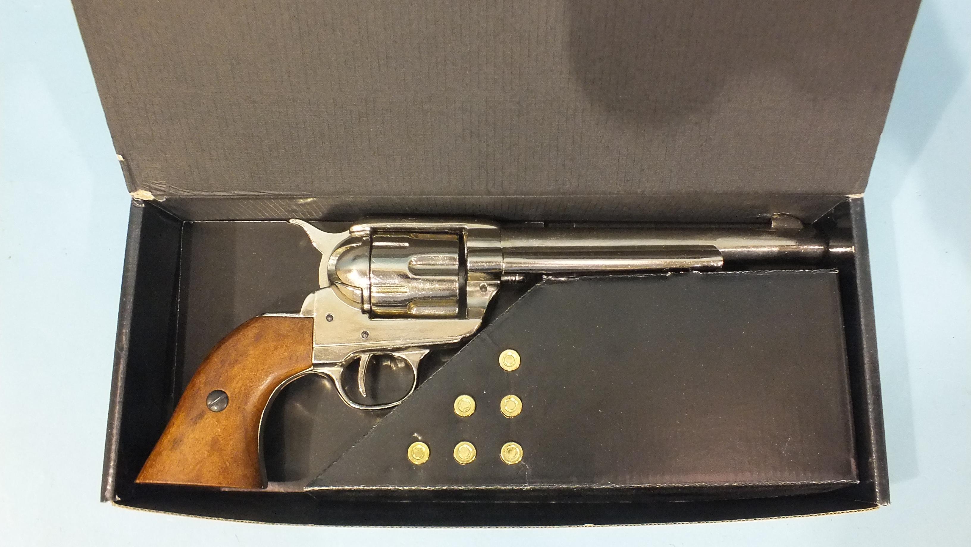 A replica BKA98 revolver, (in Denix box). - Image 2 of 2