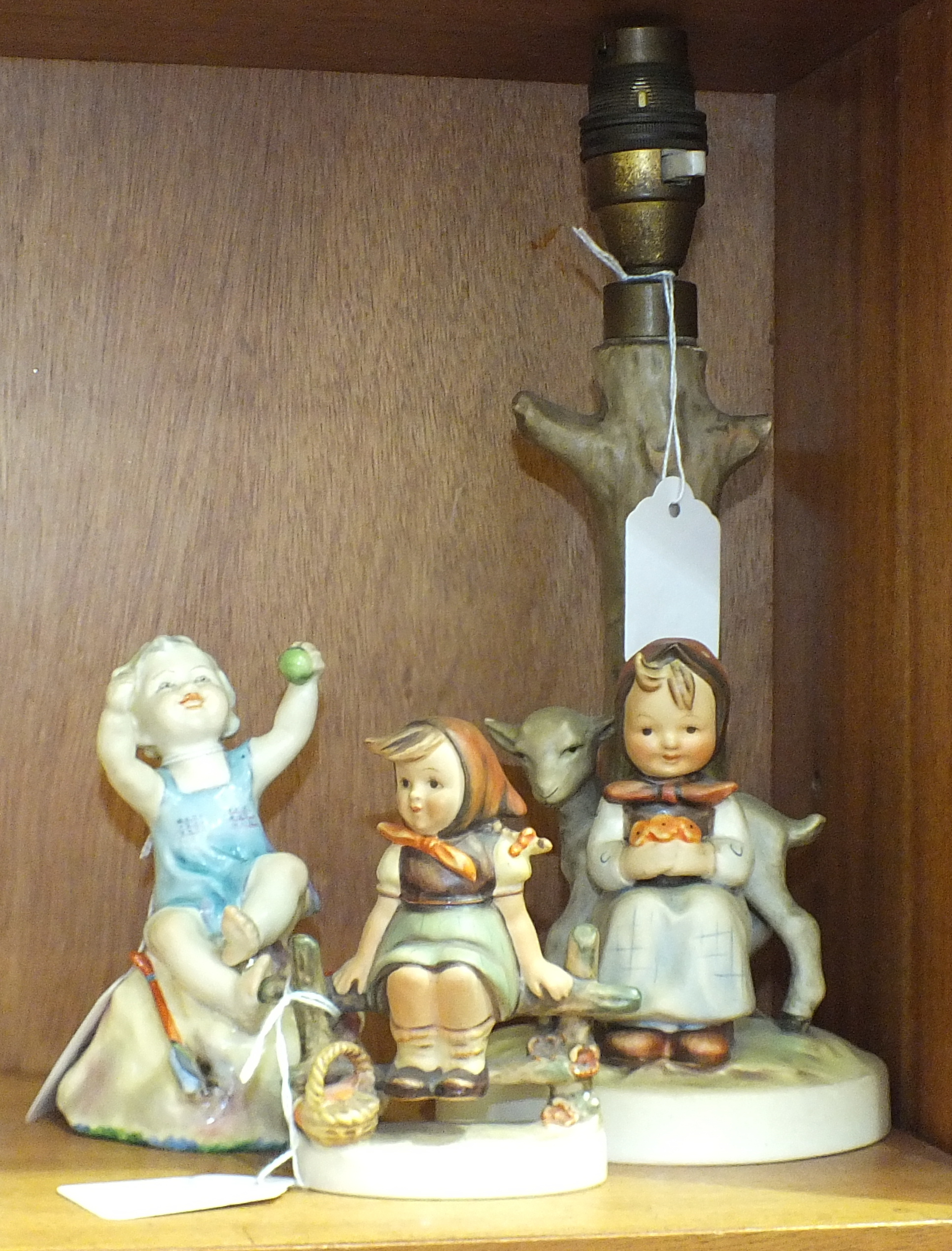 A Royal Worcester figurine 'But the child that is born on the Sabbath day......', 12.5cm, together