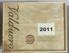 Valduero Reserva 2011 Special Cuvee Membresia la Tenada, 6 bottles in original wooden crates, (6).