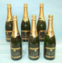 Haton Champagne Jean Noel, six bottles, (6).