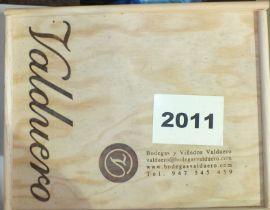 Valduero Reserva 2011 Special Cuvee Membresia la Tenada, 6 bottles in original wooden crates, ( 6).