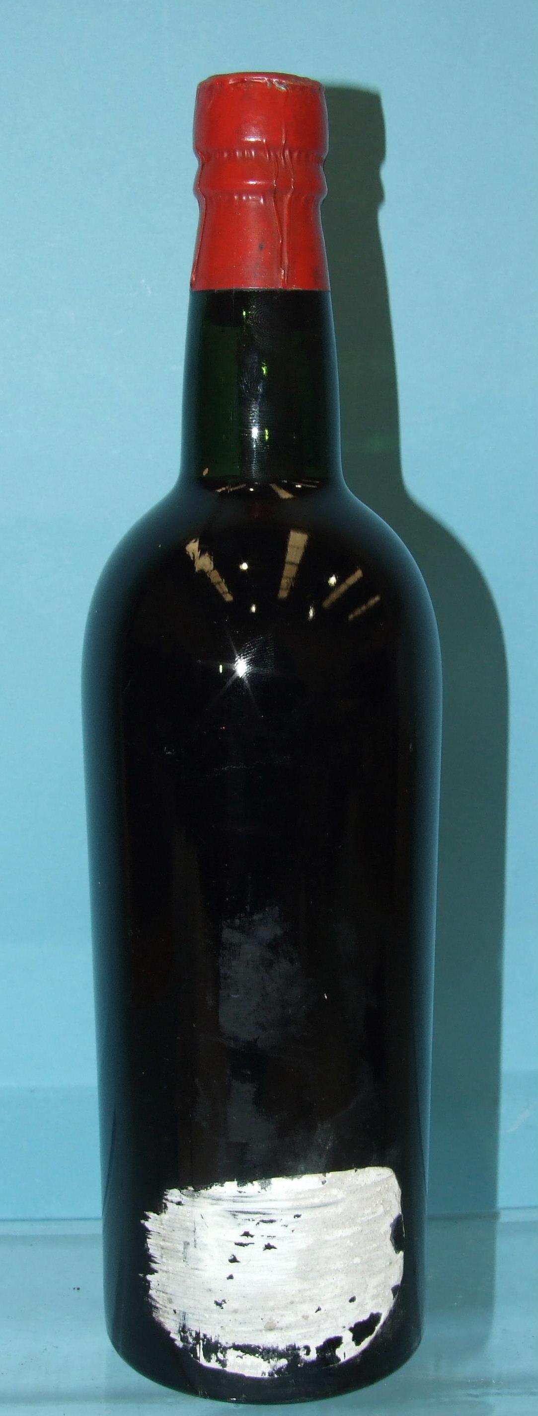 Graham 1948 vintage Port, bottled for James Hawker & Co. Plymouth, (bottom-neck, lead foil intact,