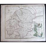Emanuel Bowen, 'A Correct Map of the South East part of Germany including the Electorate of