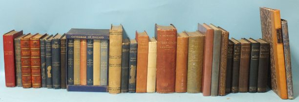 The Cathedrals of England, 6 vols, illus. cl gt, pub: Raphael Tuck & Sons, 8vo, in case and other