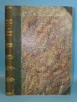 British Ferns, a 19th century album of pressed ferns, approximately fifty-eight examples of