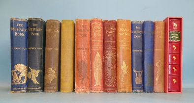 Lang (Andrew), The Fairy Book Series, including five 1st edns: Blue Fairy Book 10th imp. 1903, Green