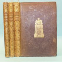 Dickens (Charles), Master Humphrey's Clock, 1st edn in book form, 3 vols, frontis and numerous vigns