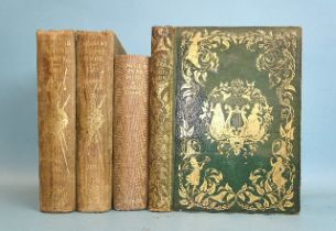 Heath (Charles), Beauties of the Opera and Ballet, 10 engr plts, tissue gds, illus, ge, gilt dec