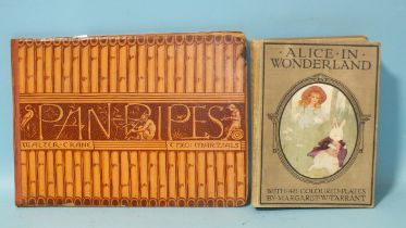 """Marzials (Theo), Panpipes, illus. by Walter Crane, bds ob 4to, 1883; Dodgson (Charles Lutwidge, """""""