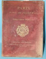 Hamerton (Philip Gilbert), Paris in Old and Present Times, 12 engr plts, tissue gds, ge cl gt, 1885,