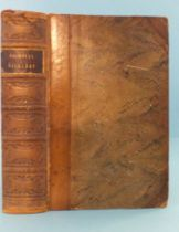 Dickens (Charles), The Life and Adventures of Nicholas Nickleby, frontis, 58 plts, cf gt, 8vo,