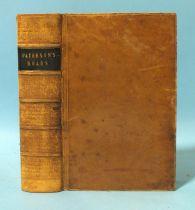 Paterson (Daniel), Paterson's Roads, 18th edn, fldg engr map, frontis (tear), eight fldg maps by