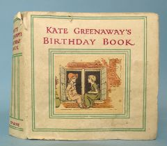 Greenaway (Kate, Illus.), Kate Greenaway's Birthday Book with Verses by Mrs Sale Barker, (not