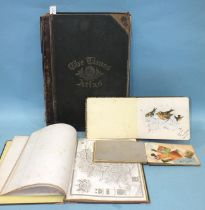 The Times Atlas, 117 pp maps, hf cf gt, (bd loose), fo, 1895; two small albums containing amateur