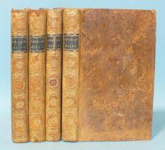 Galland (M), (transl.), Arabian Nights Entertainments......., 4 vols, cf gt, 12mo, printed for T