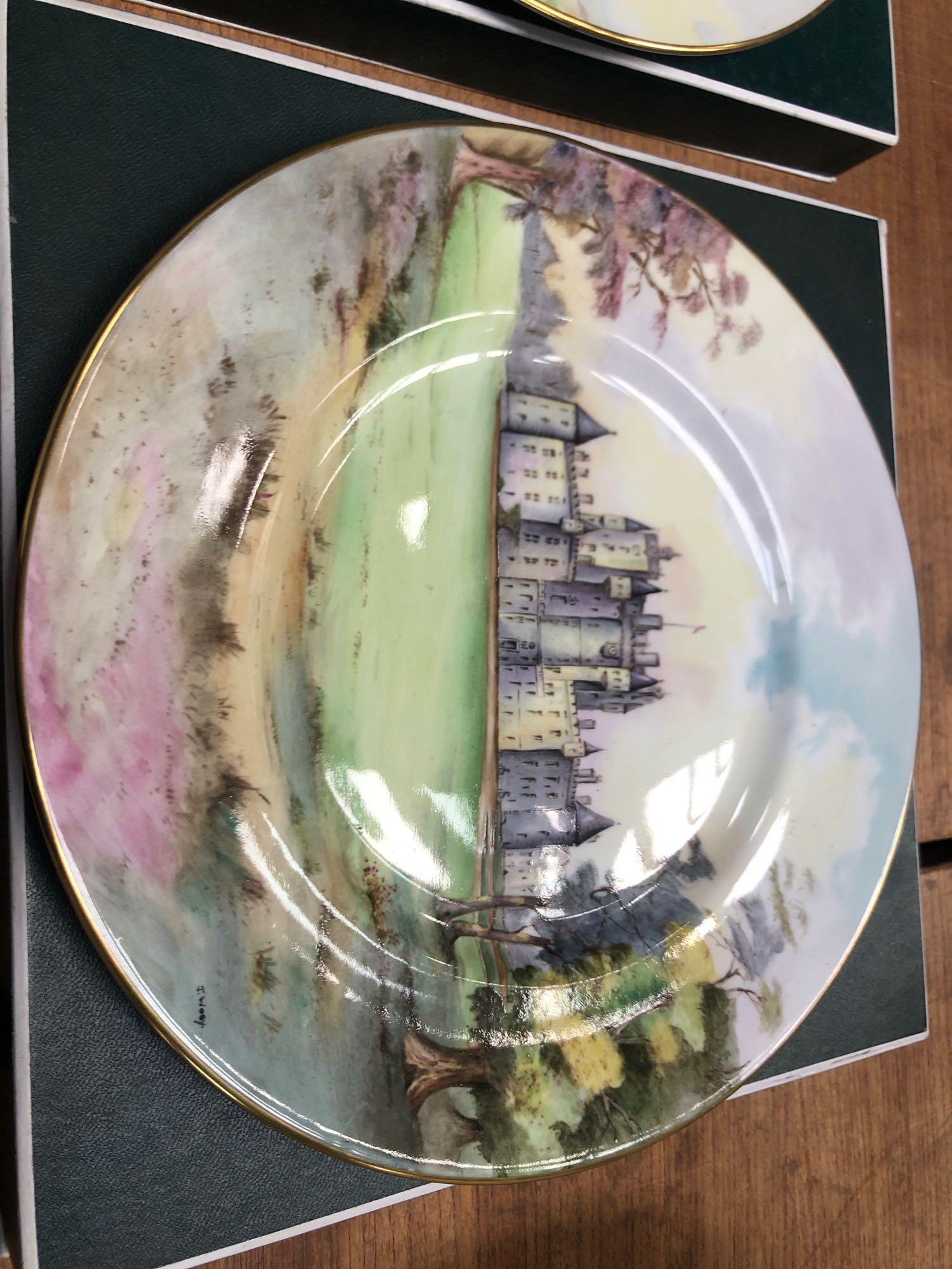 2 BOXED MINTON PLATES- GLAMIS & EDINBURGH - Image 3 of 7