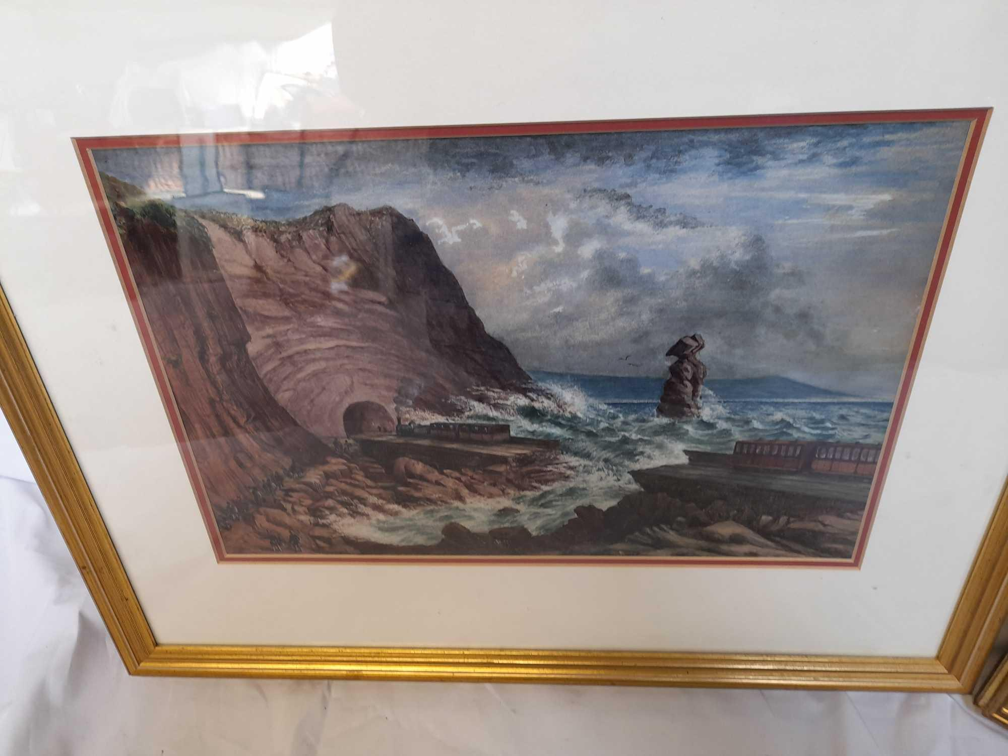 W C PAINTING LIMEKILN & PICTURE TEIGNMOUTH - Image 2 of 6