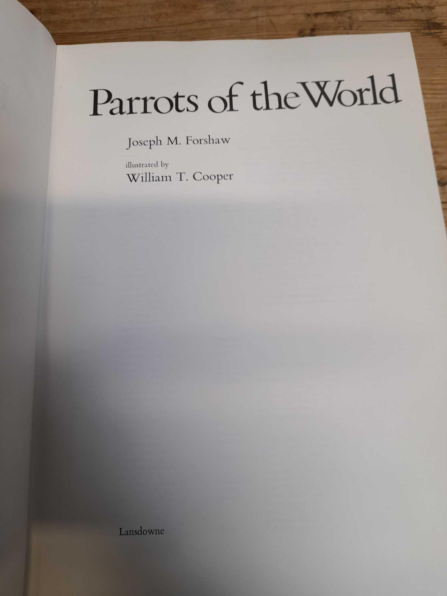 3 PARROT BOOKS - Image 15 of 20