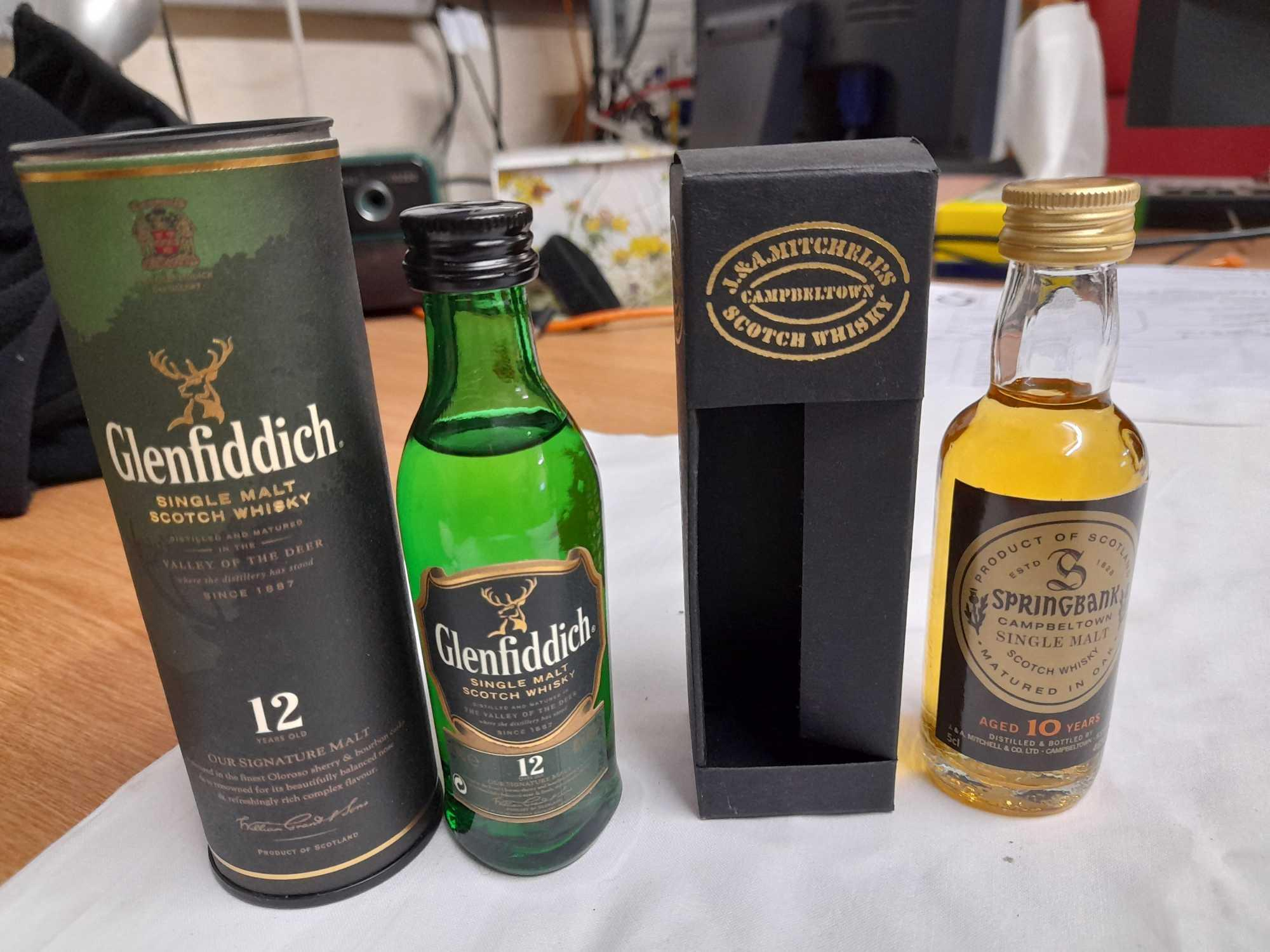 BOX 13 WHISKY MINIATURES - Image 6 of 6