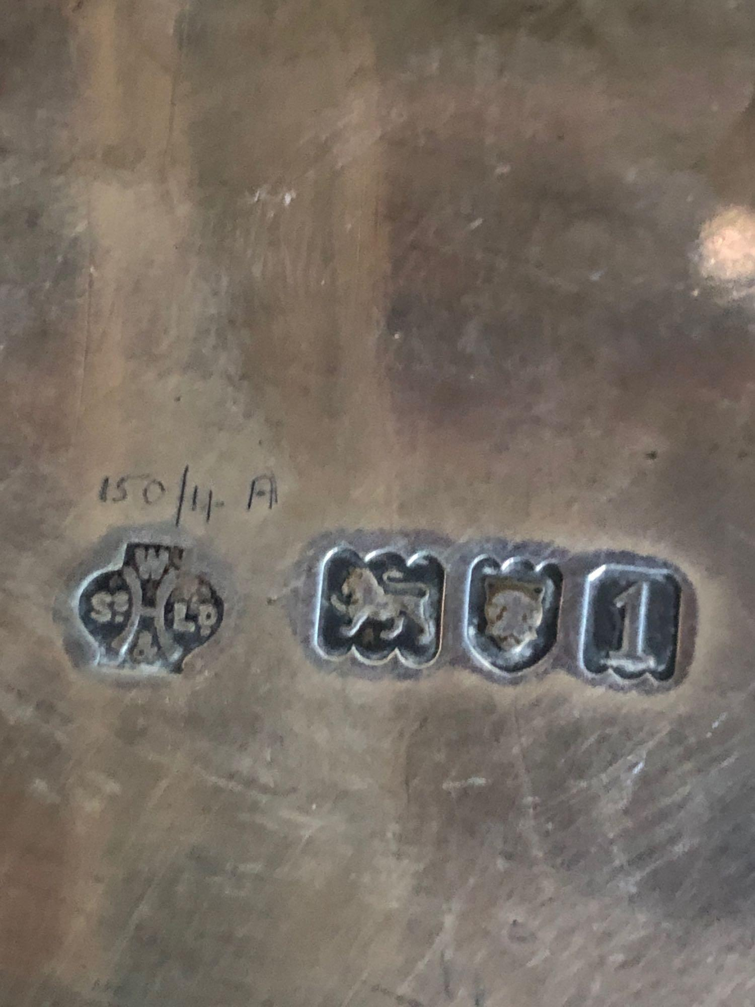 ENGRAVED SILVER TRAY - Image 4 of 4