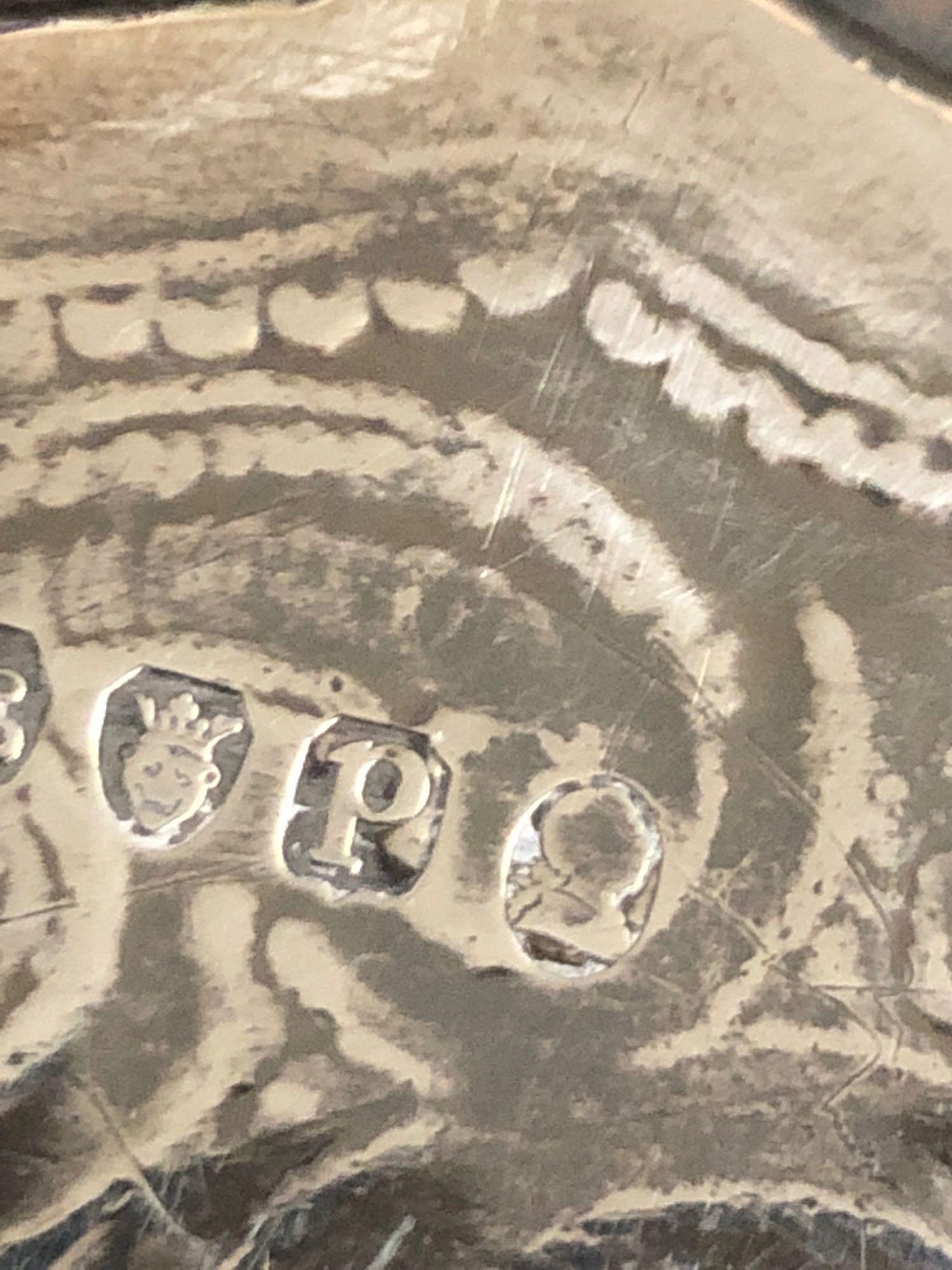 3 LEGGED SILVER TRAY - Image 7 of 7