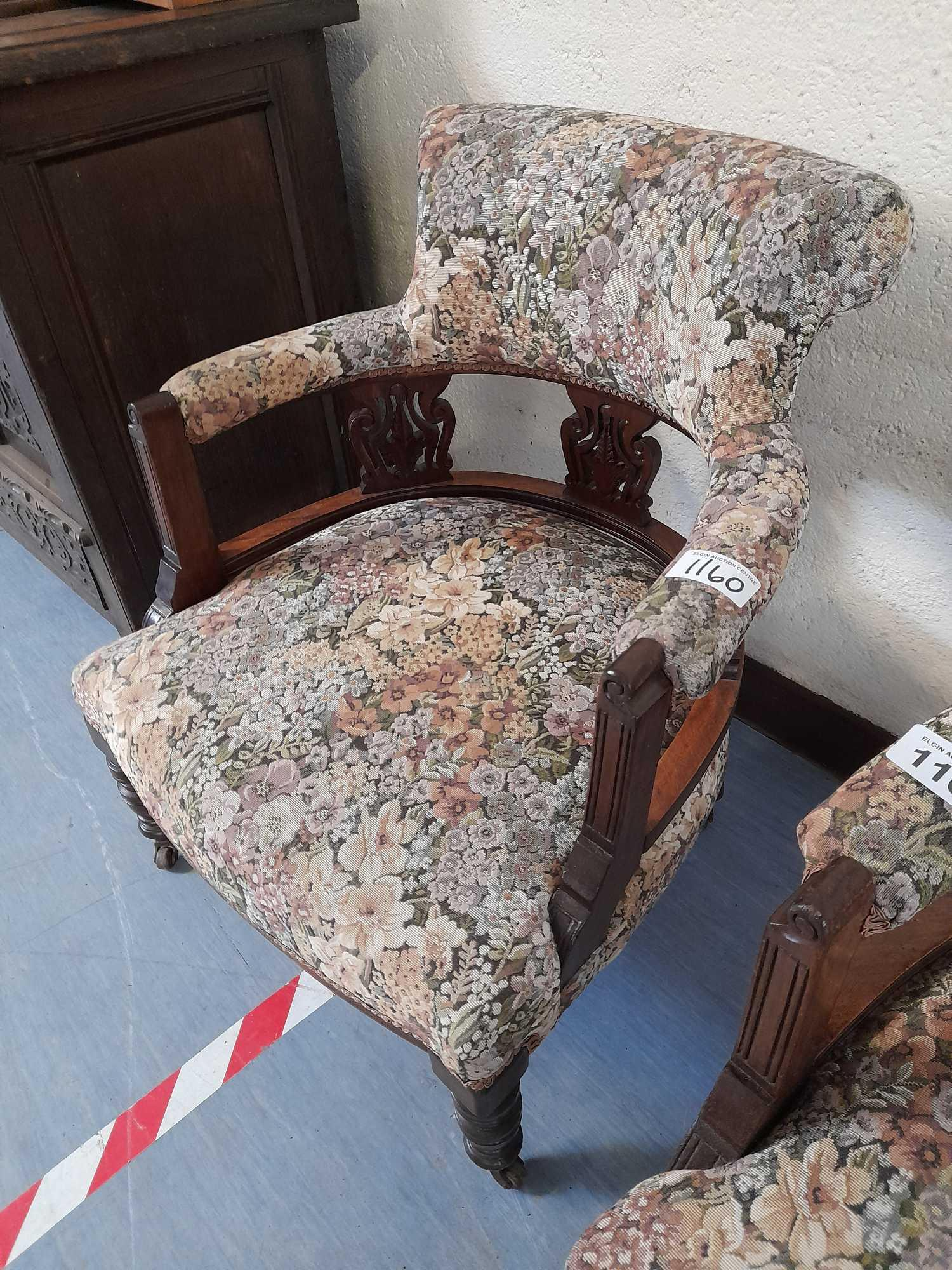 2 TUB CHAIRS - Image 2 of 3