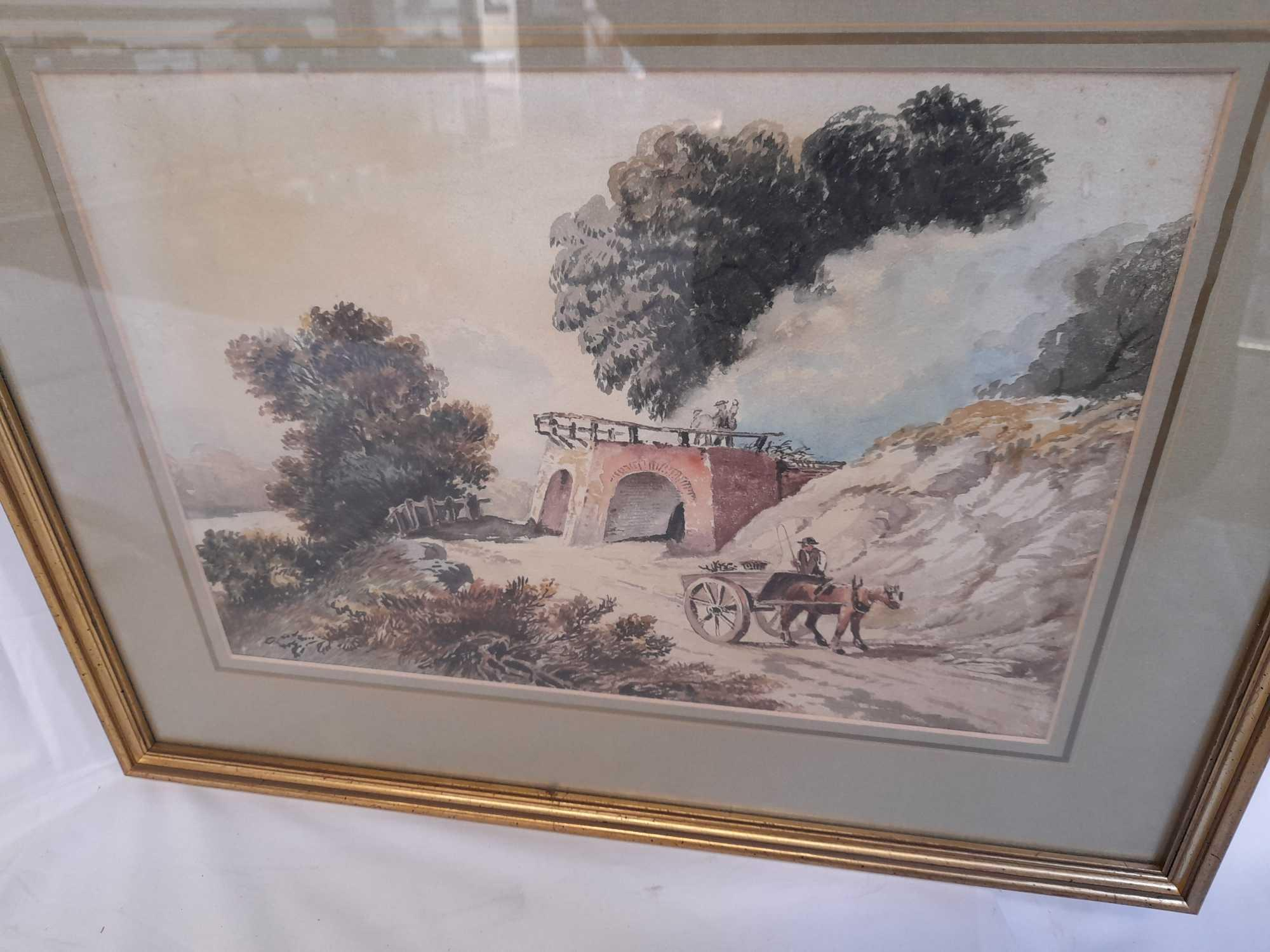 W C PAINTING LIMEKILN & PICTURE TEIGNMOUTH - Image 4 of 6