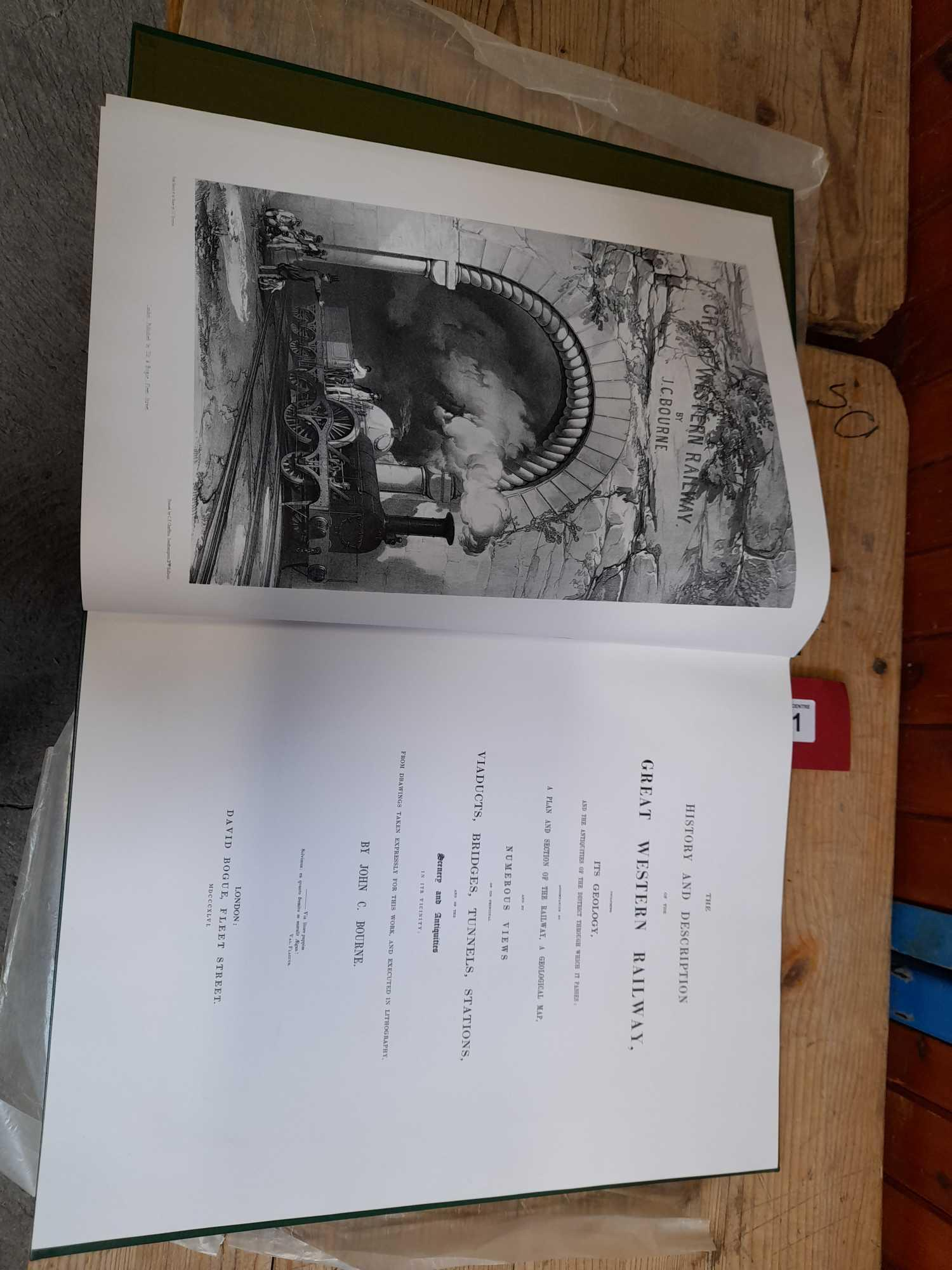 BOURNES GREAT WESTERN RAILWAY BOOK COPY 1 OF 500 - Image 3 of 9