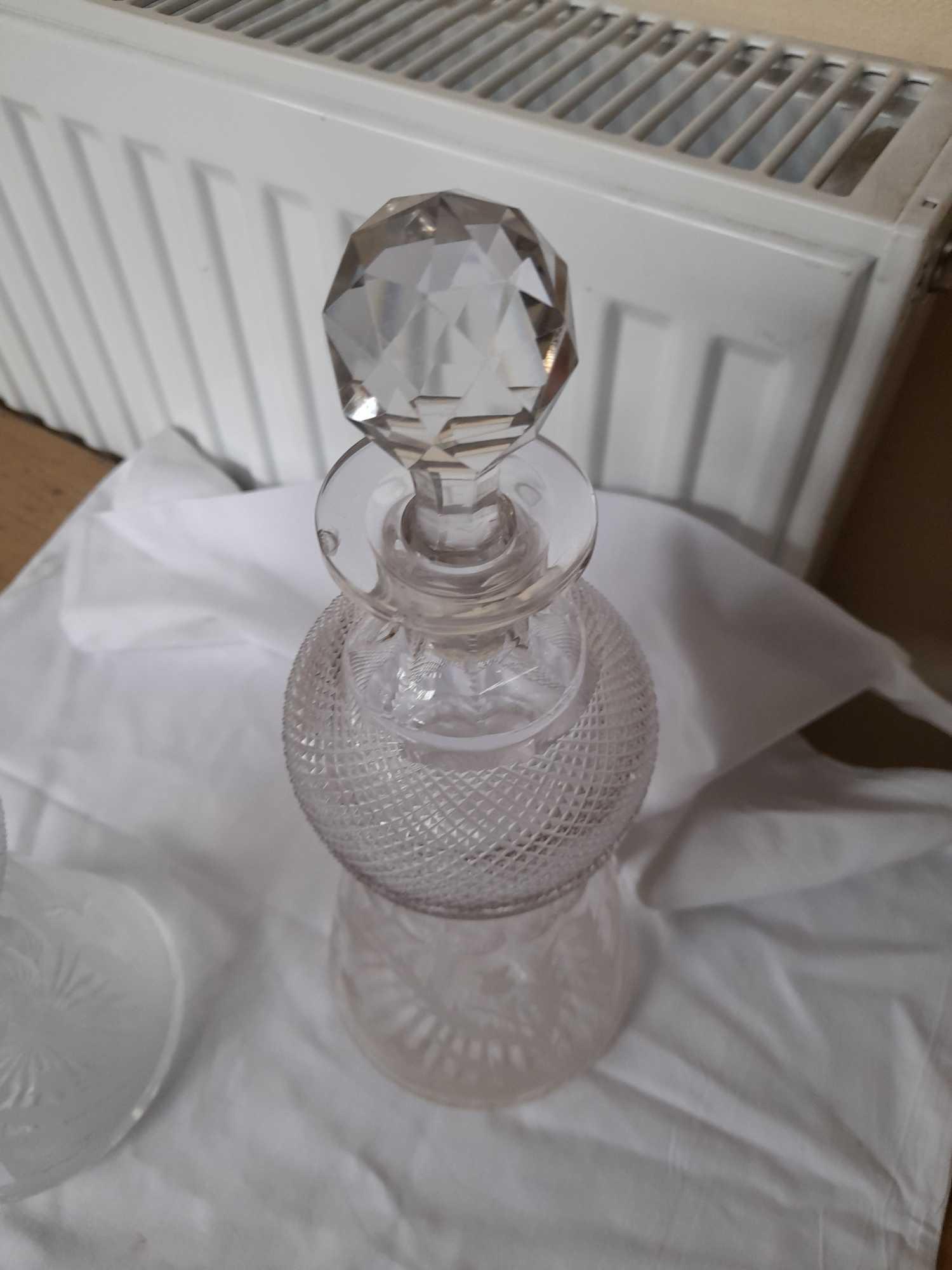 2 DECANTERS & GLASSES ETC (AF) - Image 10 of 10