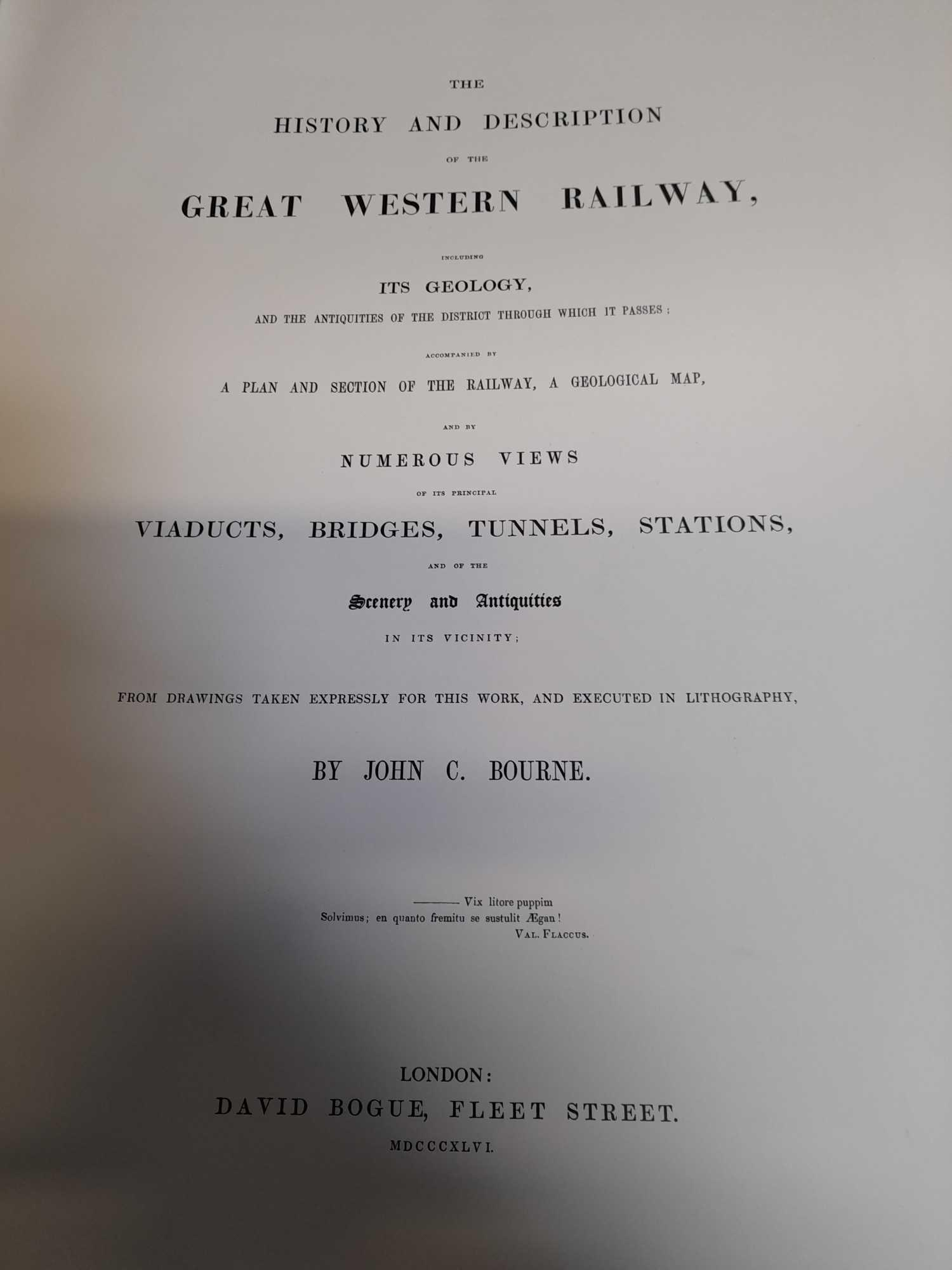 BOURNES GREAT WESTERN RAILWAY BOOK COPY 1 OF 500 - Image 4 of 9