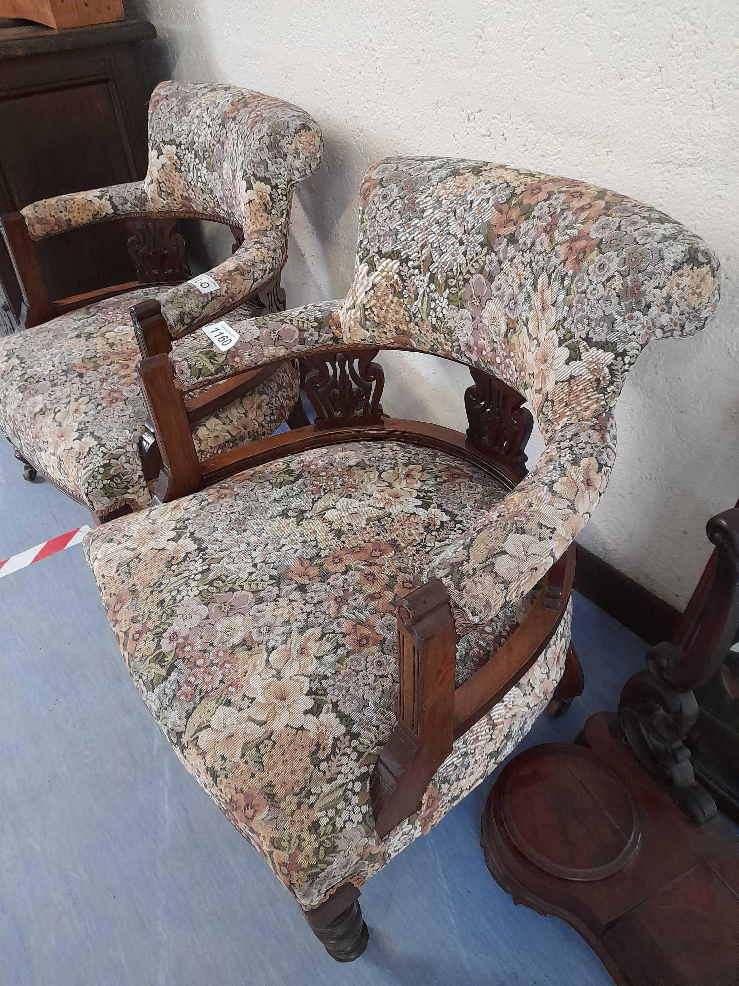 2 TUB CHAIRS - Image 3 of 3
