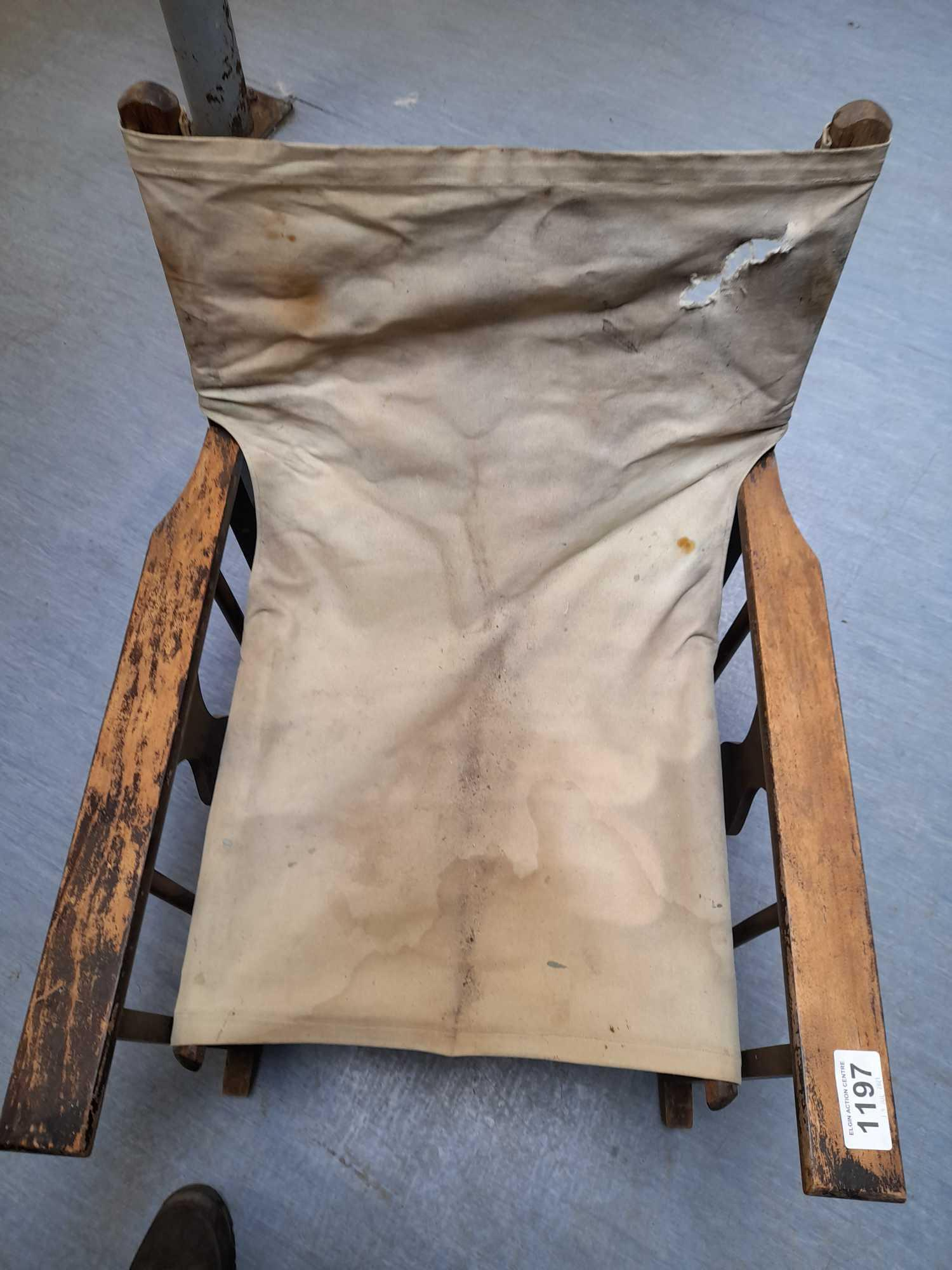 CAMPAIGN ROCKING CHAIR (AF) - Image 2 of 4