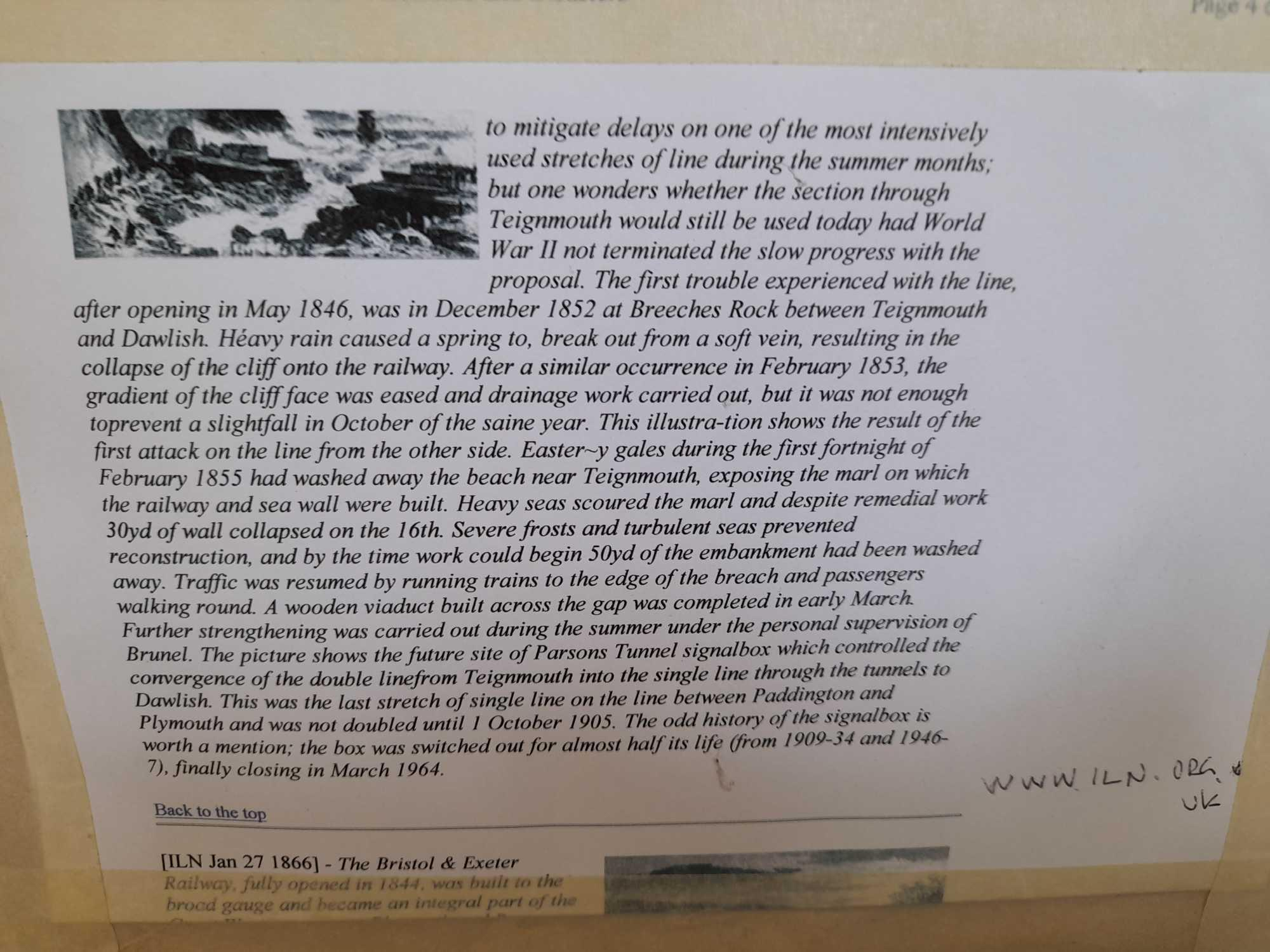 W C PAINTING LIMEKILN & PICTURE TEIGNMOUTH - Image 3 of 6