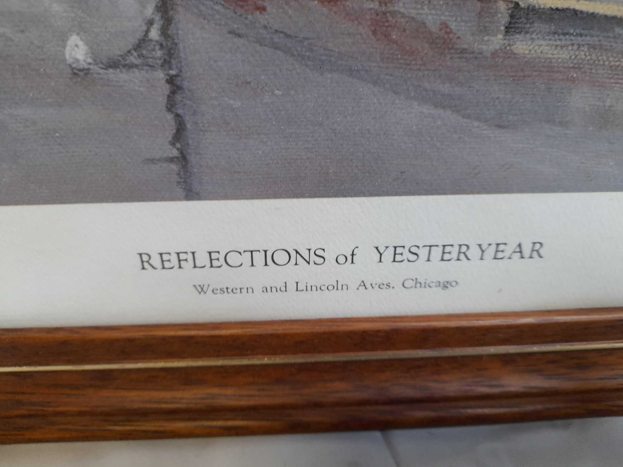 PRINT-REFLECTIONS OF YESTERYEAR CHICAGO - Image 5 of 5