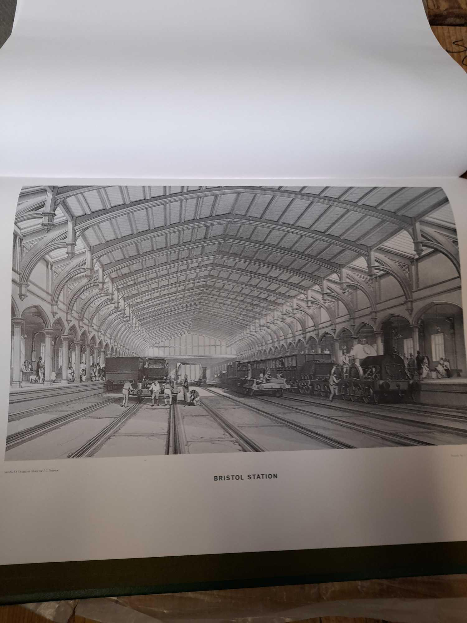 BOURNES GREAT WESTERN RAILWAY BOOK COPY 1 OF 500 - Image 9 of 9