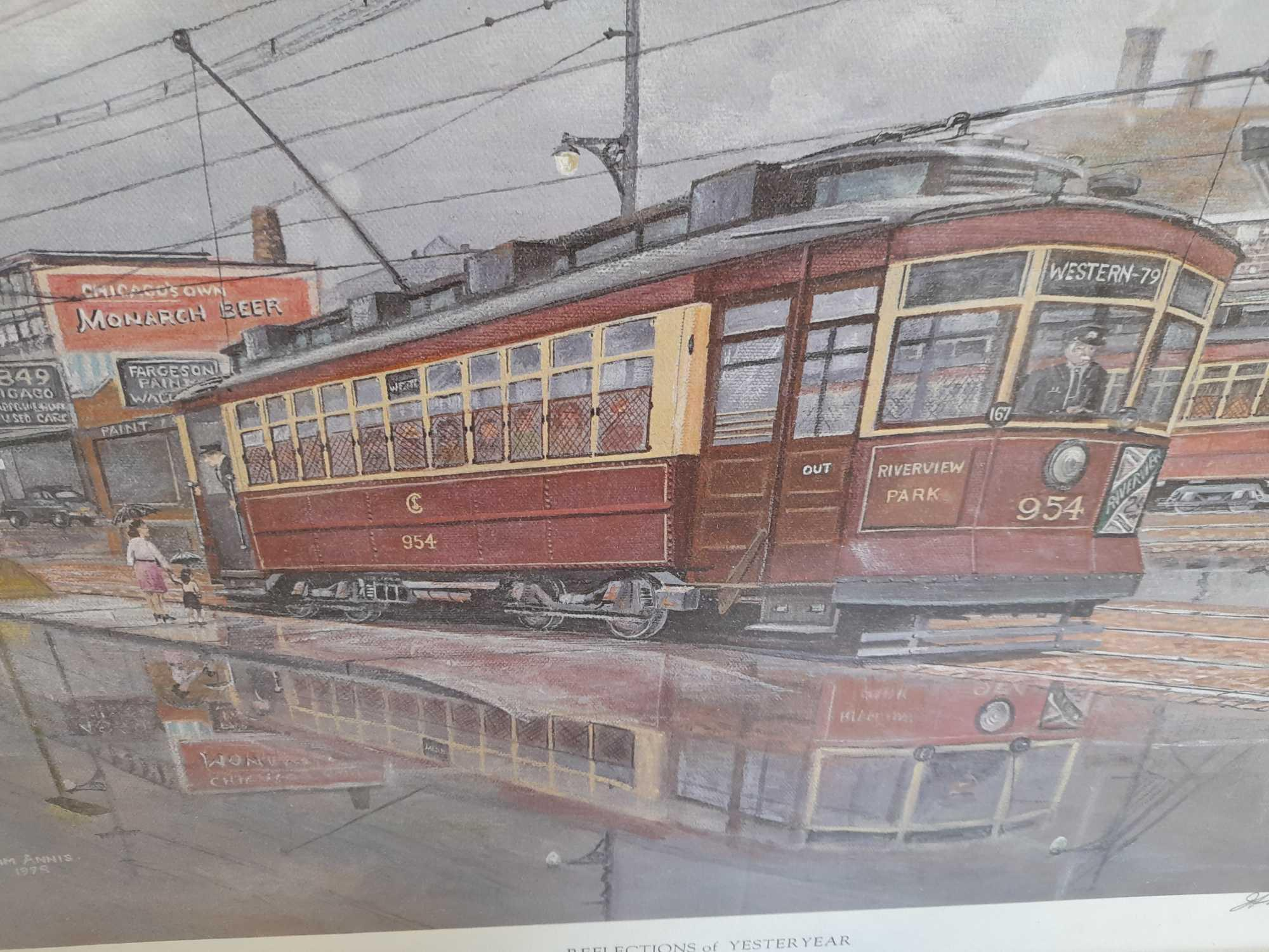 PRINT-REFLECTIONS OF YESTERYEAR CHICAGO - Image 2 of 5