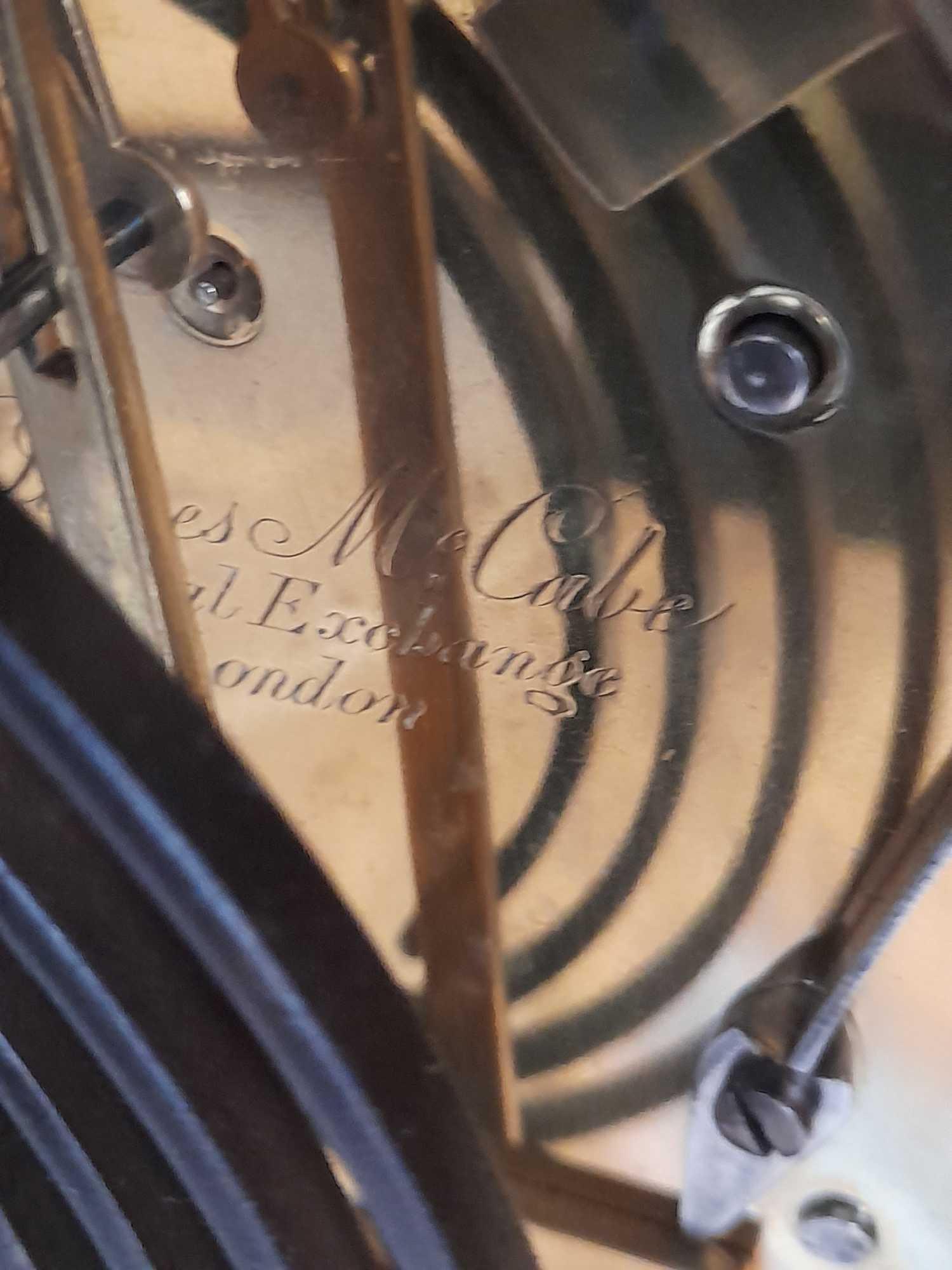 JAMES McCABE LONDON CLOCK - Image 9 of 16