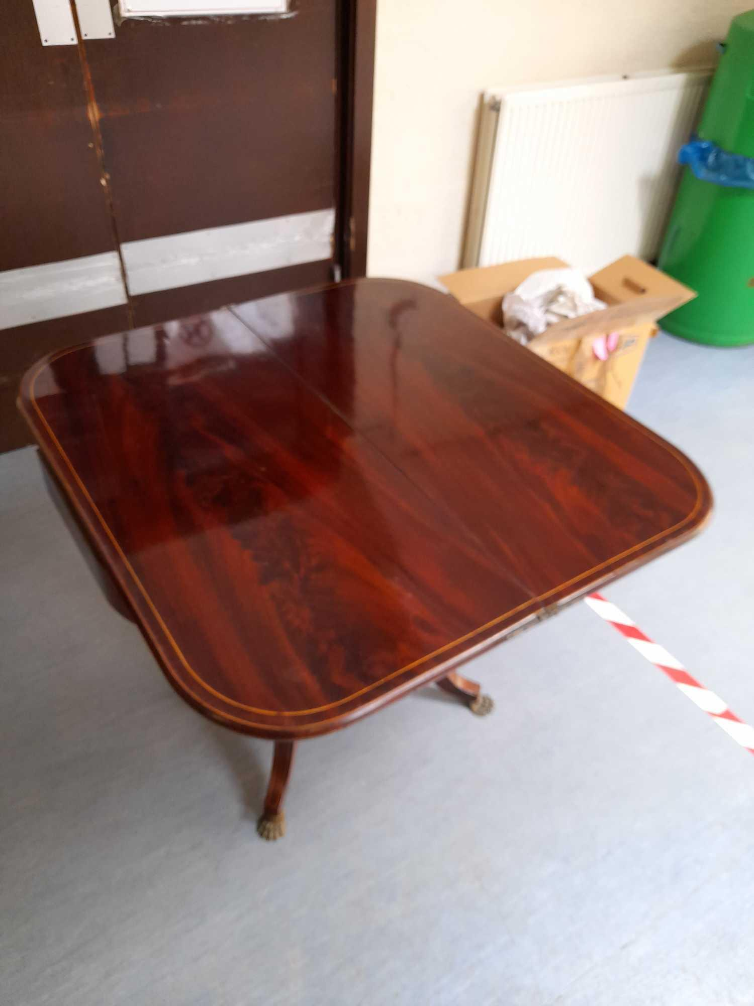 INLAID FOLD OVER TABLE - Image 7 of 7