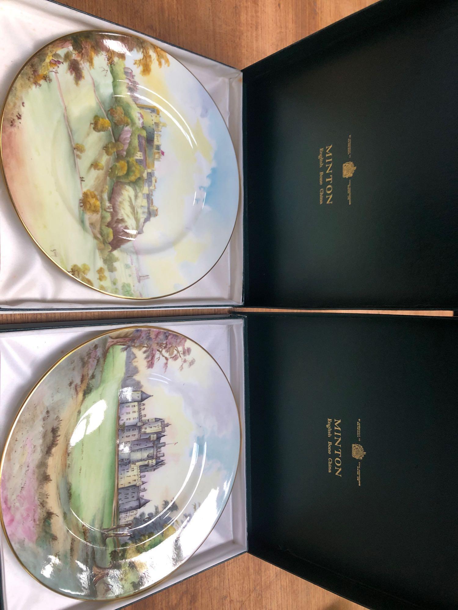 2 BOXED MINTON PLATES- GLAMIS & EDINBURGH - Image 7 of 7