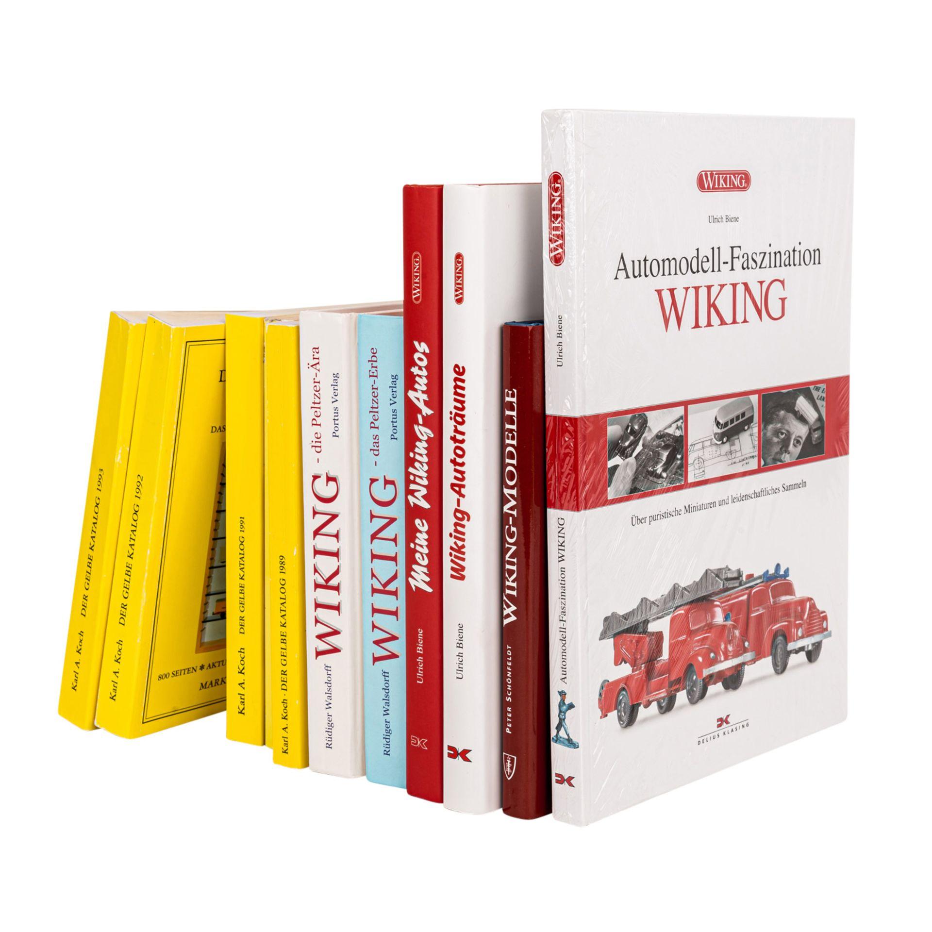 WIKING 11-tlg Bücherkonvolut,bestehend aus 6 hochwertig gebundenen Ausgaben, darunter