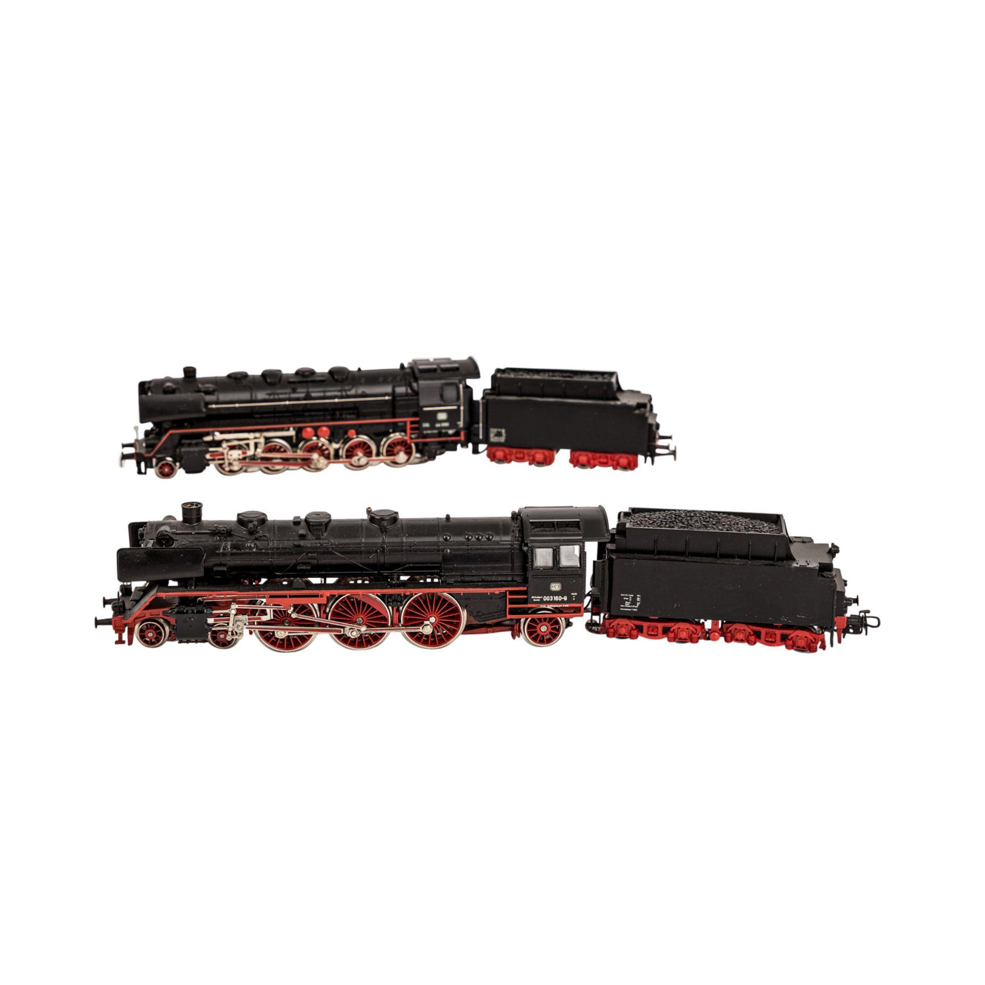 MÄRKLIN Konvolut Lokomotiven und Güterwagen, Spur H0,bestehend aus zwei Schlepptende - Image 3 of 3