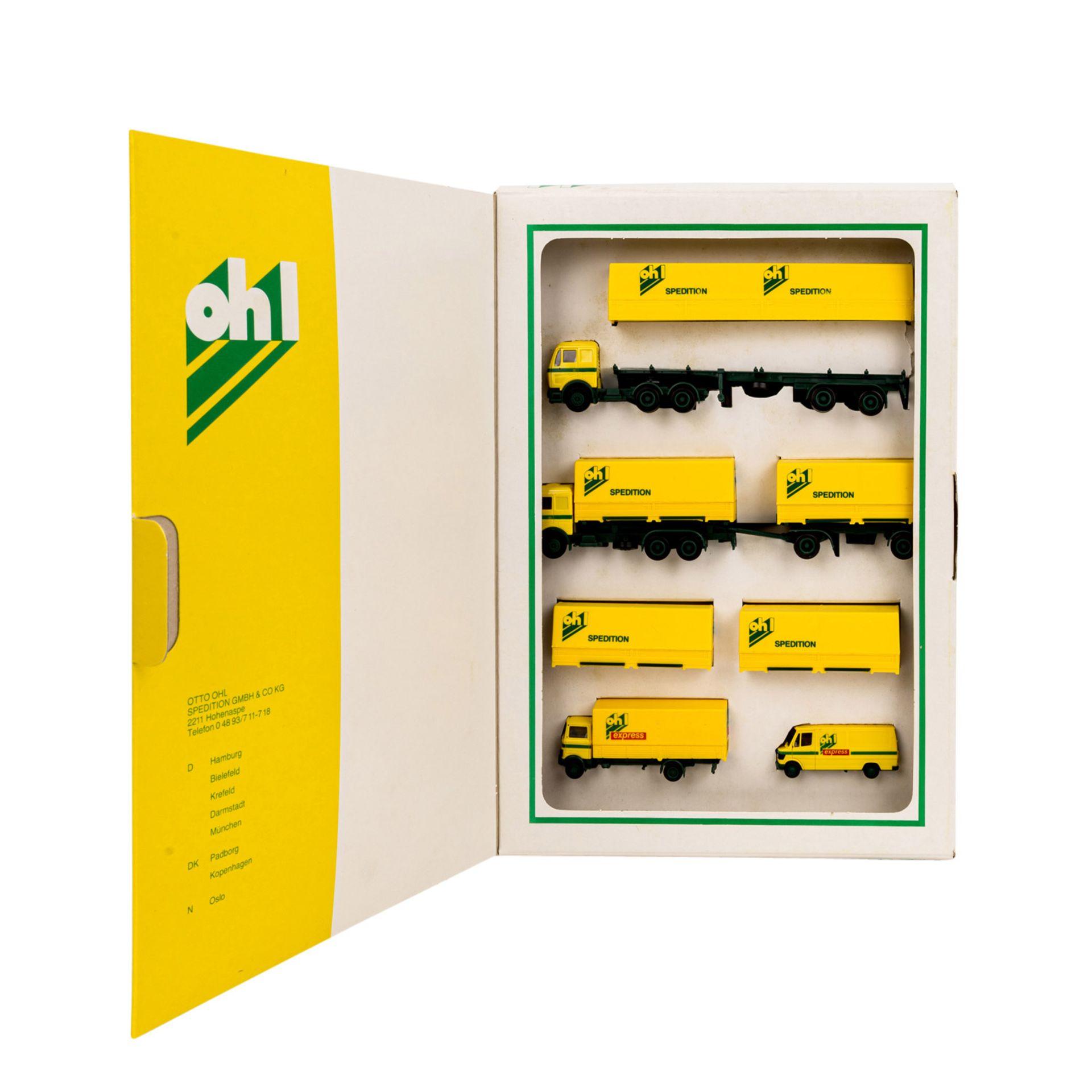 HERPA Konvolut von 30 Fahrzeugen in 10 Packungen im Maßstab 1:87,darunter Sonderausga - Image 4 of 5
