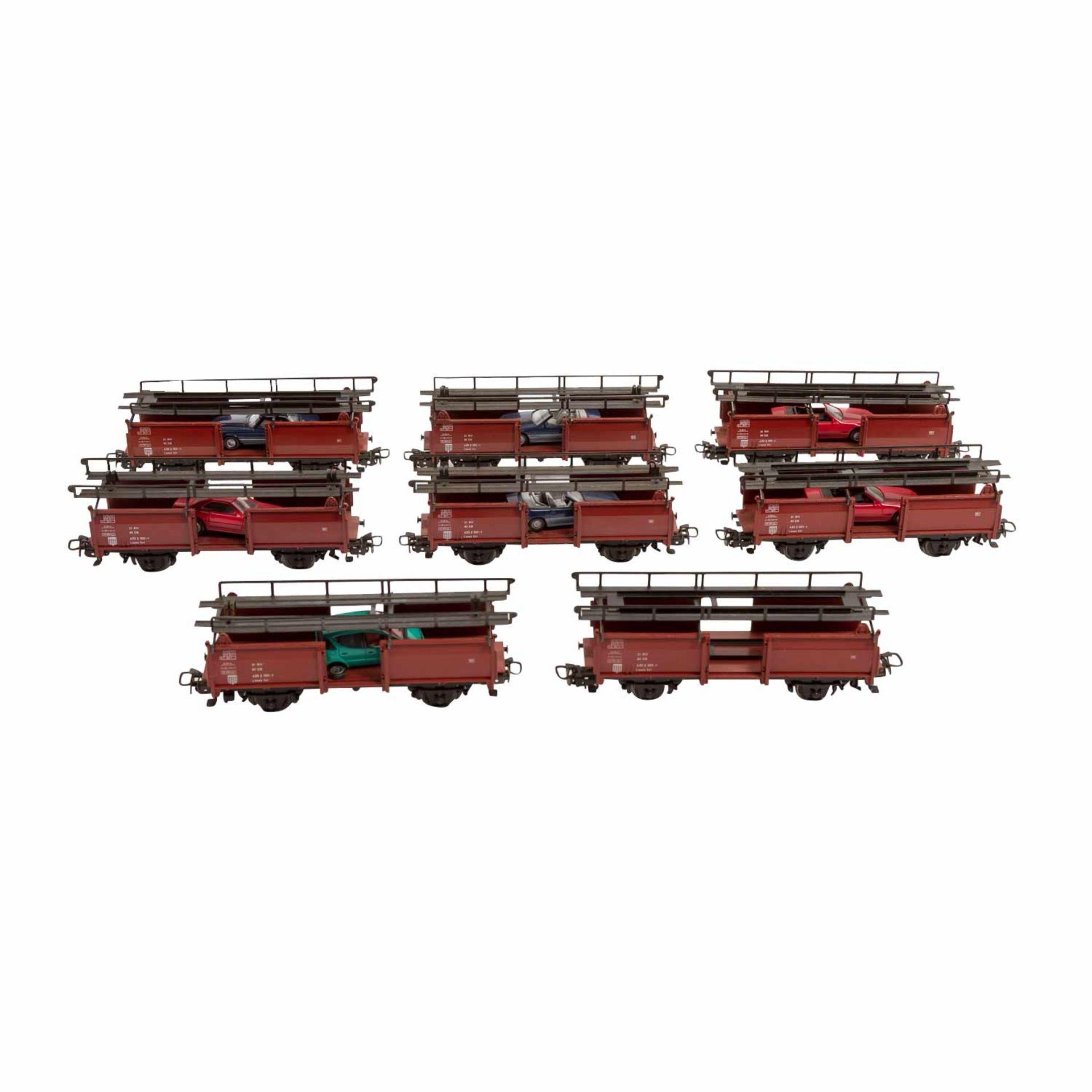 MÄRKLIN Konvolut von zwei Dieselloks und 8 Güterwagen, Spur H0,bestehend aus Diesell - Image 3 of 3
