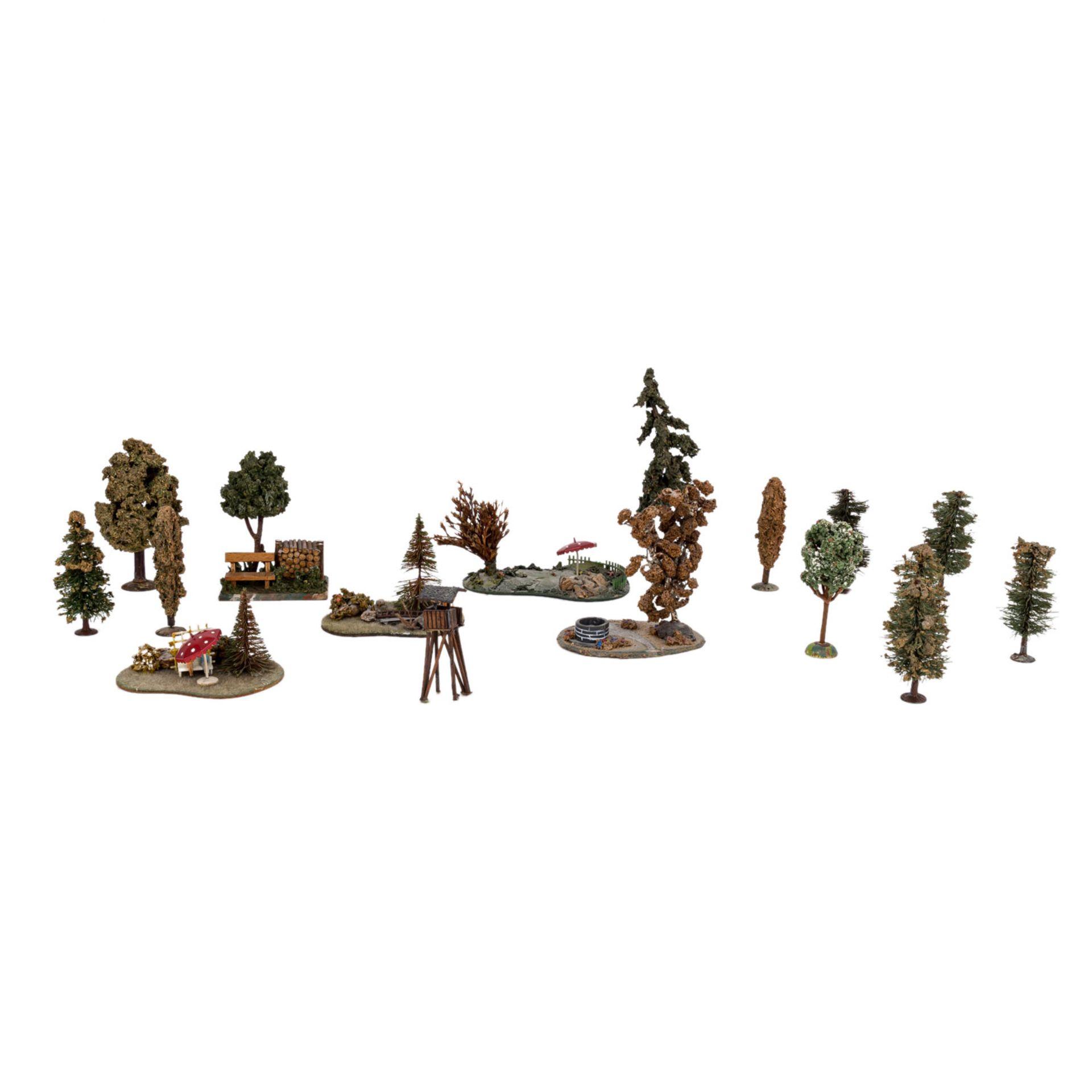 PREISER/MERTEN Miniatur-Dioramen und Figuren für die H0-Anlage,16 verschiedene Figure - Image 5 of 5