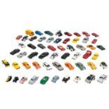 WIKING/HERPA u.a. Konvolut von ca. 55 Modellfahrzeugen im Maßstab 1:87,mehr als 50 PK